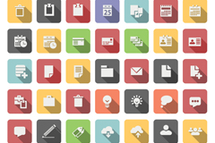 49 business element icon vector