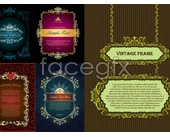 Link to5 classical european-style lace vector