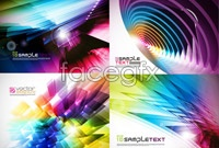 Link to5 colorful and dynamic background vector