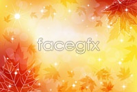 Link to5 colorful autumn background vector