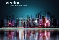 Link to5 colorful urban landscape vector map