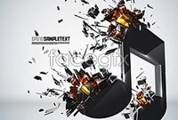 Link to5 cool stereo explosion vector