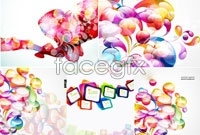 Link to5 current color combination vector picture