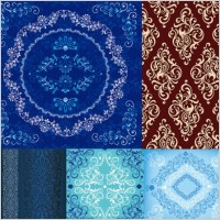 Link to5 european pattern vector