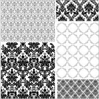 Link to5 europeanstyle lace pattern vector