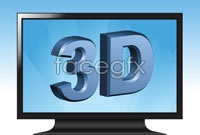 Link to5 flat panel tv vector map