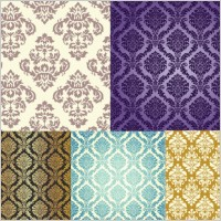 Link to5 gorgeous pattern vector background