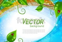Link to5 gorgeous plant background vector map