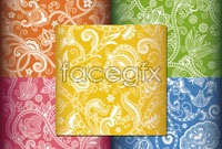 Link to5 gorgeous shaded background vector