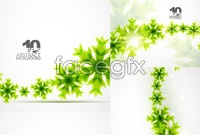 Link to5 green vine vector