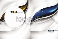 Link to5 light technology background vector