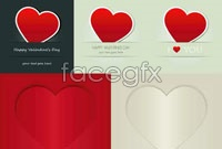 Link to5 love tile background vector