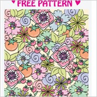 Link to5 lovely pattern vector
