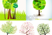 Link to5 spring tree vector map