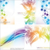 Link to5 symphony background vector