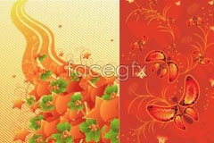 Link to5 trend fun pattern vector