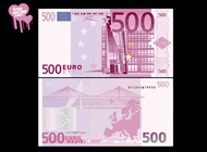 Link to500 euro bill vector free