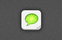 Link to512px iphone app icon template psd