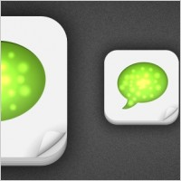 Link to512px iphone app icon template