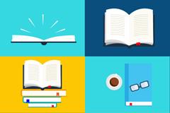 6 book design vector