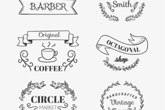 Link to6 business tag vector