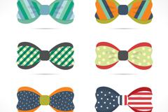 Link to6 creative bow vector diagrams