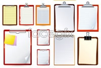 Link to6 desk notepad vector