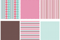 Link to6 fresh striped background vector