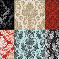 Link to6 shades of fashion pattern vector