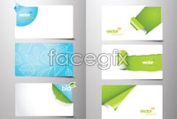 Link to6 torn paper edge cut card vector