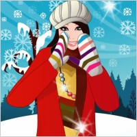 Link to6 vector winter women