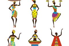 Link to6 women's african design vector