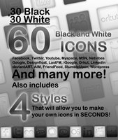 Link to60 bnw buttons incl. ps styles