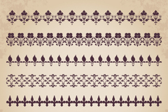 Link to7 pattern design vector graph