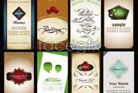 Link to8 european card design vector