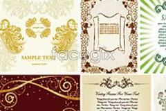 Link to8 practical european style flower eps vector
