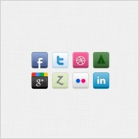 Link to8 social icons