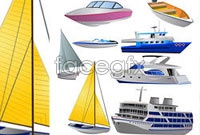 Link to8 vessels vector