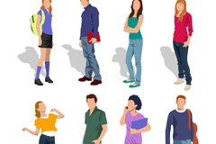 Link to8 youth design vector