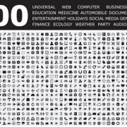 Link to800 small fine web media icons set free