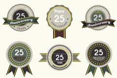 Link to9 25 anniversary label vector diagrams
