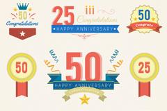 Link to9 anniversary label vector diagrams