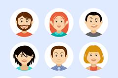 Link to9 cartoon avatar vector illustration
