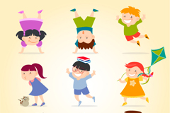 Link to9 children vector