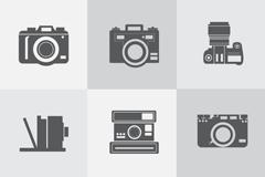 Link to9 design camera icon vector