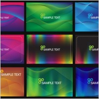 Link to9 lines of lightsensitive background card vector