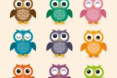 Link to9 owl cartoon vector