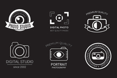 Link to9 studios logo design vector