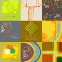 Link to9 stylish vector background