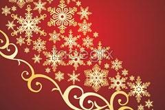 Link toA beautiful christmas pattern vector